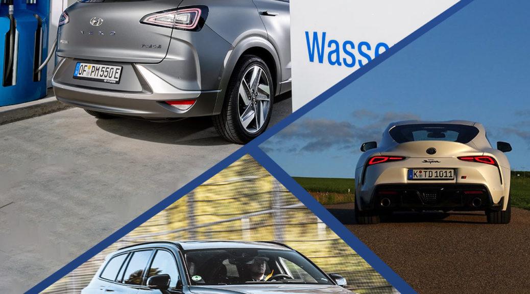 Cover Folge 17: Wasserstoff, Brennstoffzelle, Toyota Supra, Volvo V60 Polestar Engineered