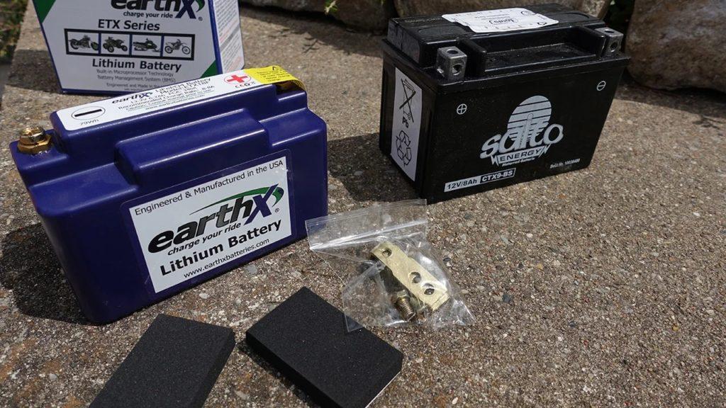 Lithium-Batterie von EarthX