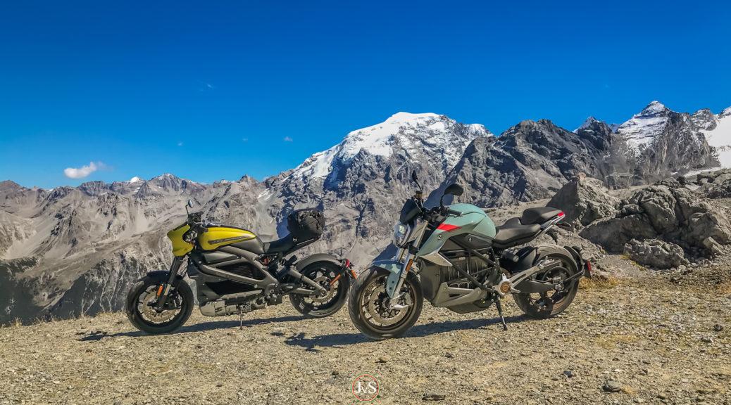 Elektromotorräder: Zero SR/F und Harley-Davidson LiveWire