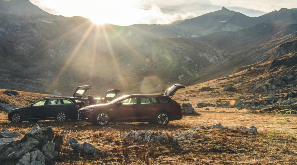 """""""Parken"""" für die Nacht am Col de Sommeiller auf rund 2.600 Metern"""