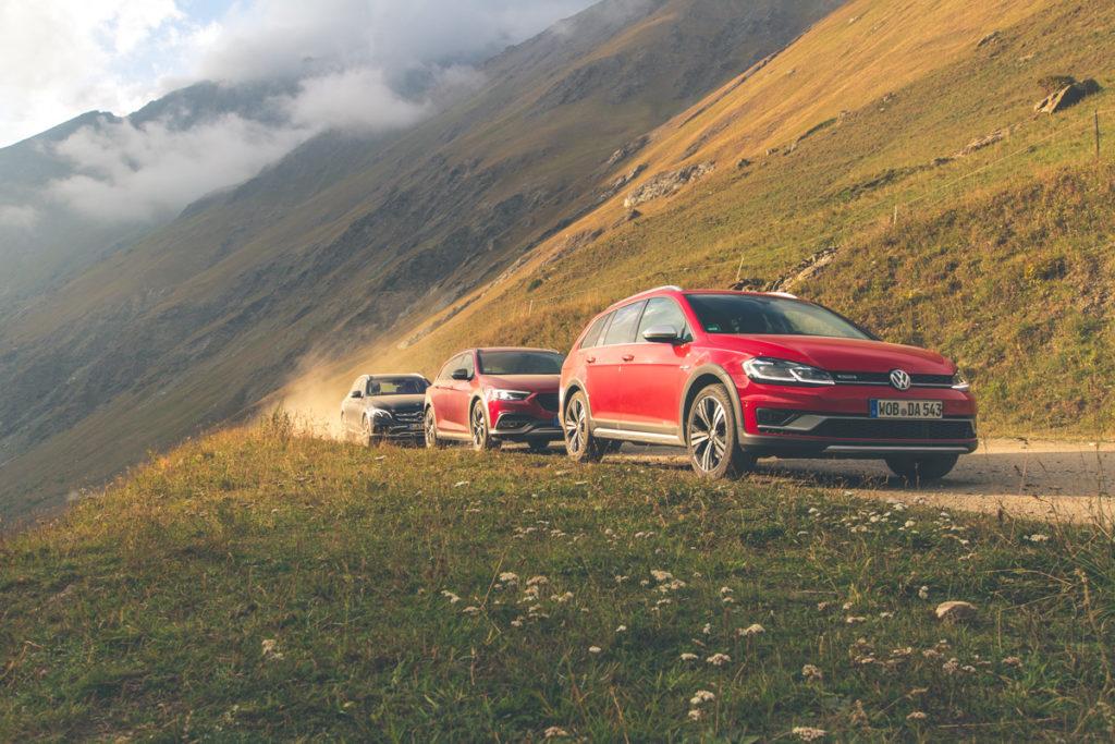 Försterkombi 2: VW Golf Variant Alltrack